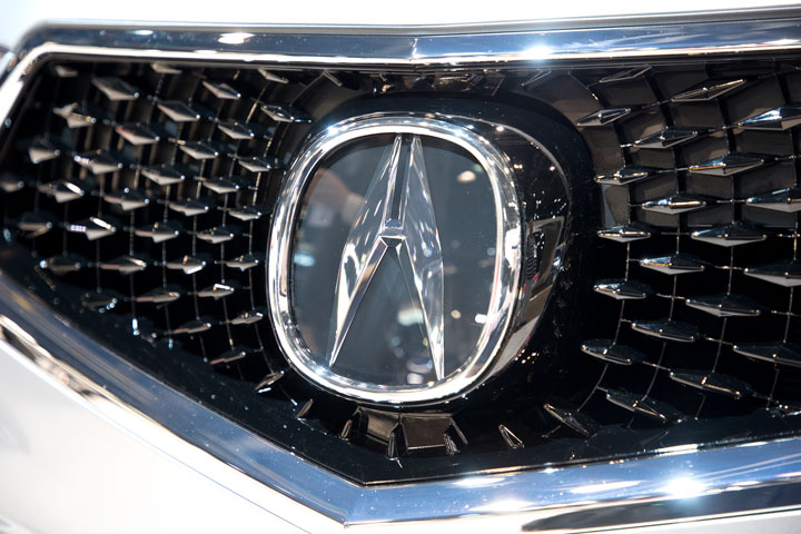 Whats That In The Grille - Acura mdx front grill