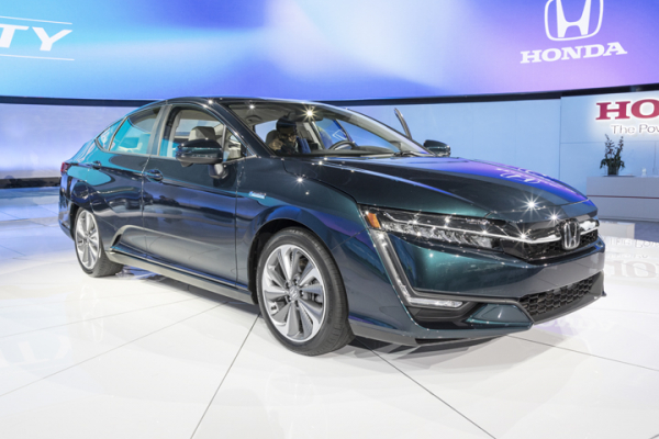 Sectioning and Partial Part Replacement: 2019 Honda Clarity
