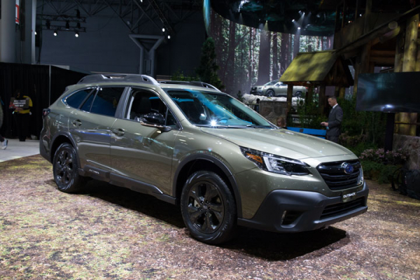 2020 Subaru Outback Debuts New Front End and ADAS Features
