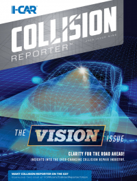 I-CAR Collision Reporter – The Vision Issue