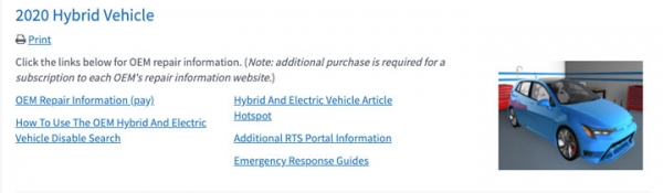 How To Use The OEM Hybrid And Electric Vehicle Disable Search