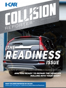 I-CAR Collision Reporter - The Readiness Issue