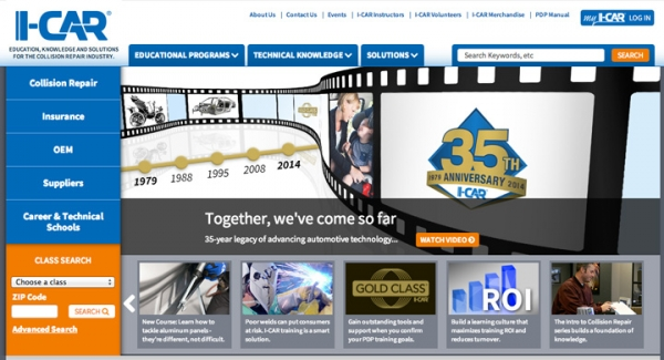 Have You Checked Out The Redesigned I-CAR Website Yet?