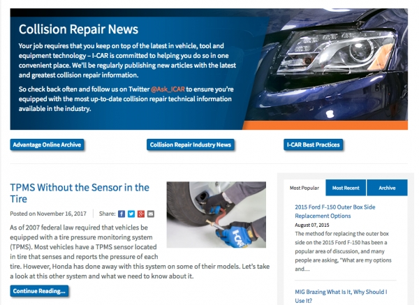 A Video Tour Of The RTS Portal Collision Repair News