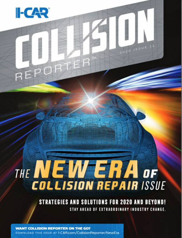 I-CAR Collision Reporter - The New Era Of Collision Repair Issue