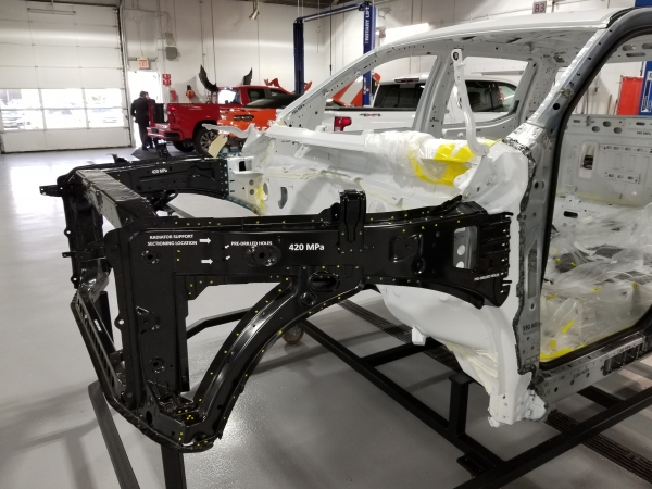 2018 SEMA: I-CAR Presents The 2019 Chevrolet Silverado Body-In-White