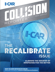 I-CAR Collision Reporter - The Recalibrate Issue