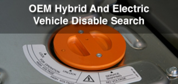 I-CAR Launches OEM Hybrid and Electric Vehicle Disable Search
