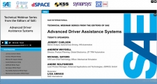SAE Advanced Driver Assistance Systems Webinar