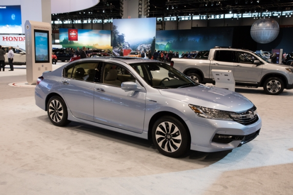 Sectioning and Partial Part Replacement: 2017 Honda Accord Hybrid