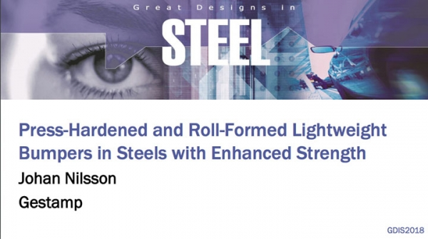 Great Designs in Steel 2018 Presentations: A Closer Look at Lightweight Bumpers in Steels with Enhanced Strength