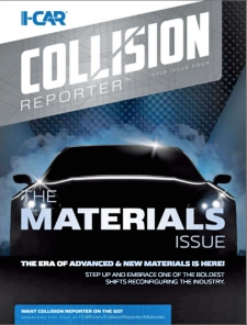 I-CAR Collision Reporter - The Materials Issue