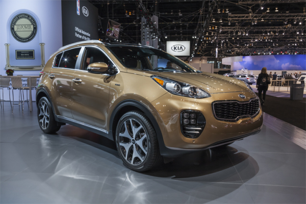 Advanced Driver Assistance Systems: 2019 Kia Sportage