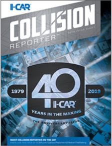 I-CAR Collision Reporter - The Anniversary Issue