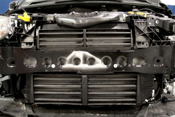 Figure 1 - This 2012 Ford Focus is equipped with the active grille shutter system.