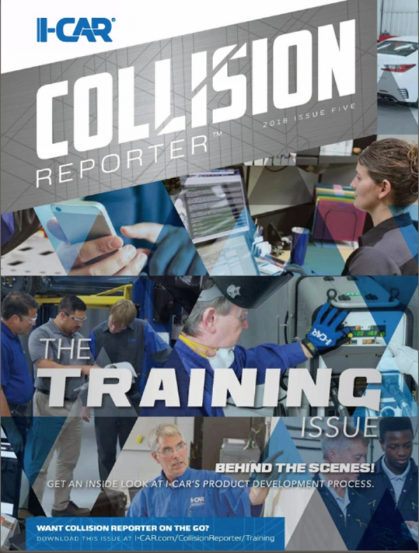 I-CAR Collision Reporter - The Training Issue