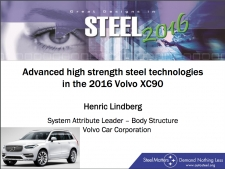Great Designs in Steel 2016 Presentations: A Closer Look - 2016 Volvo XC90