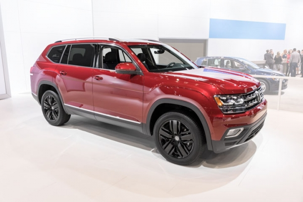 Sectioning and Partial Part Replacement: 2018 Volkswagen Atlas