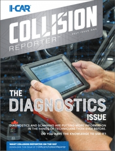 Introducing the I-CAR Collision Reporter