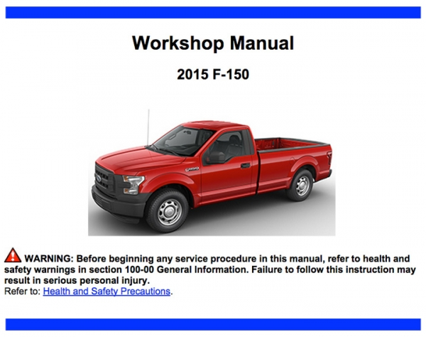2015 Ford F-150 Repair Information
