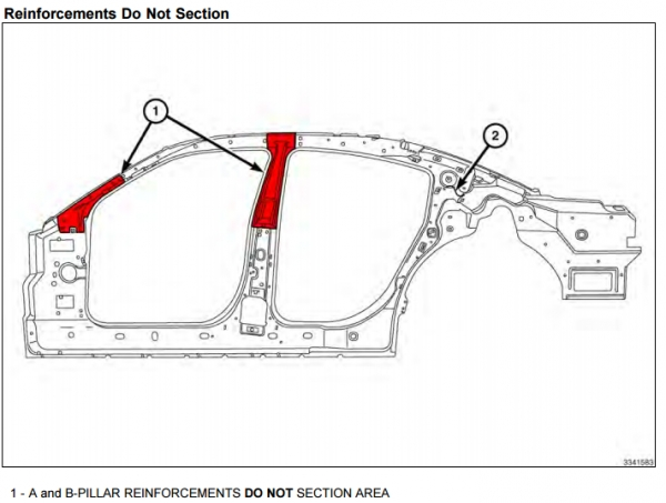 Image courtesy of Fiat Chrysler Automobiles (Dodge Charger repair manual)