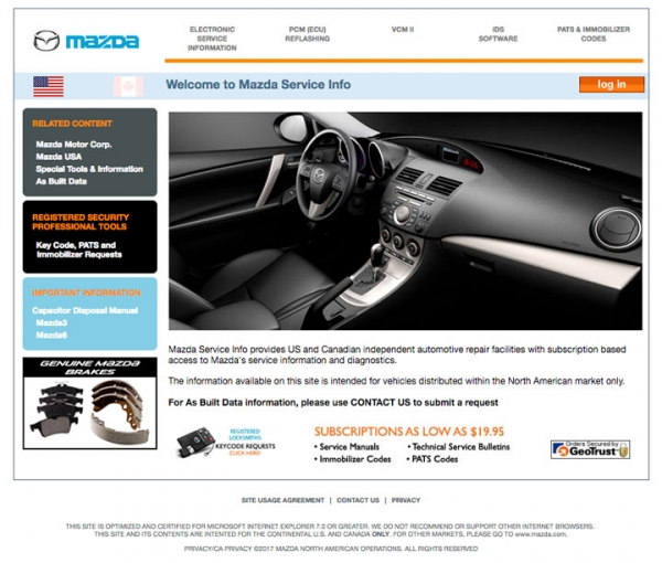 OEM Linking Pin: Finding Mazda Missing BRMs