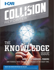 I-CAR Collision Reporter - The Knowledge Issue