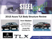 Great Designs in Steel 2015 Presentations: A Closer Look - 2015 Acura TLX